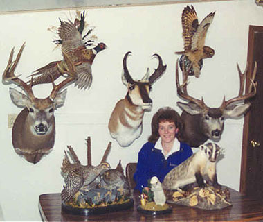 - Cindee Burns Trax Taxidermy